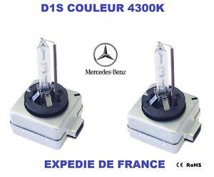 ampoules xenon d1s mercedes classe e w211 w212 classe s. Black Bedroom Furniture Sets. Home Design Ideas