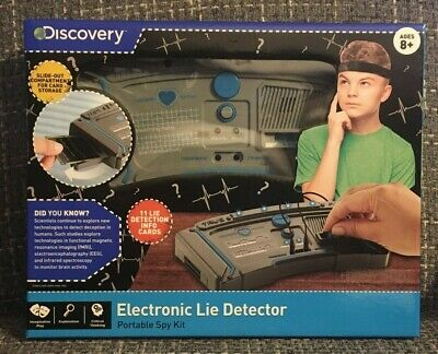 Discovery Kids Portable Electronic Lie Detector Test Spy Kit Toy