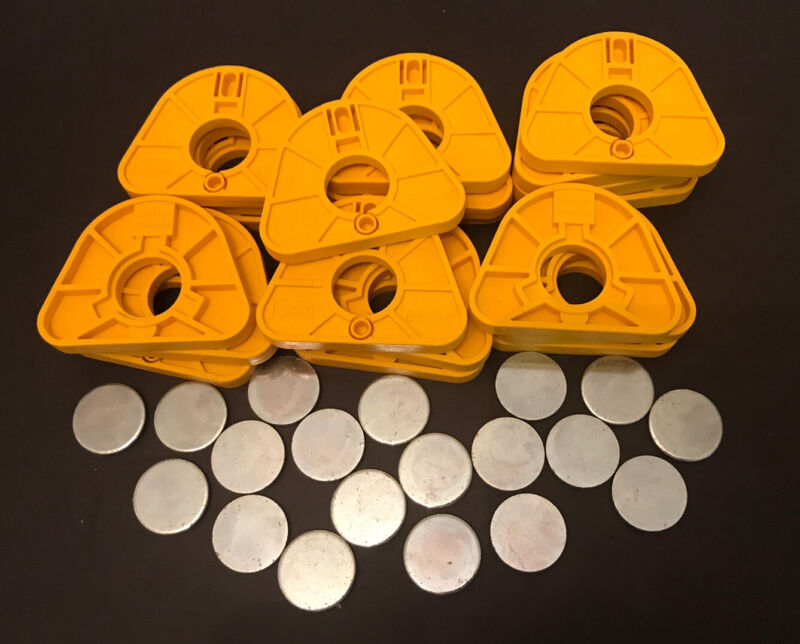 NEW SAM ARTICULATOR  MOUNTING PLATES METAL INSERTS MPS 150 DENTAL LAB GERMANY