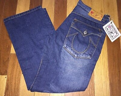 True Religion Billy Big T Urban Cowboy Relaxed Fit Med Wash Jeans Size 38 Waist Urban Cowboy Jeans