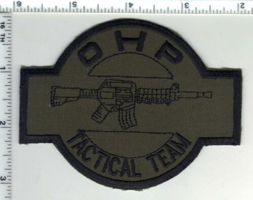 Highway Patrol Tactical Team (Oklahoma) 1st Issue Subdued Shoulder Patch