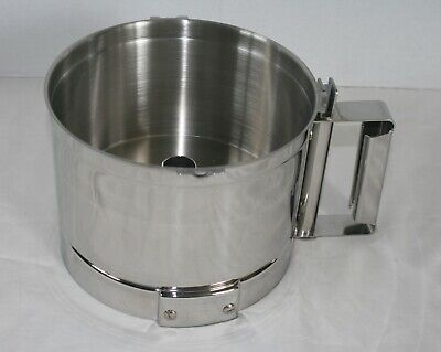 Robot Coupe Food Processor R2 Stainless 3 Qt. Work Bowl Nos Unused