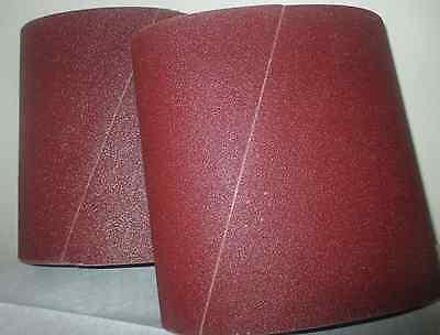 Premium 80 Grit Sandpaper Belts 8 X 19 10-pack For Ez8 Floor Sander