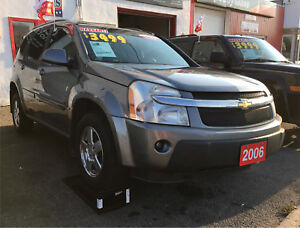 BEST DEAL IN TOWN CHEVY EQUINOX 3 MONTHS WARRANTY!