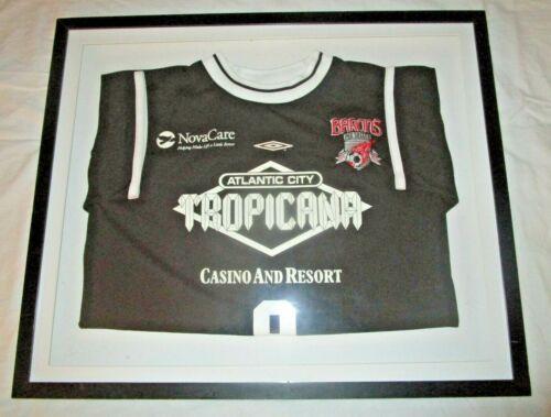 Tropicana Casino Atlantic City Promotional Sport Shirt Framed 25 X 21
