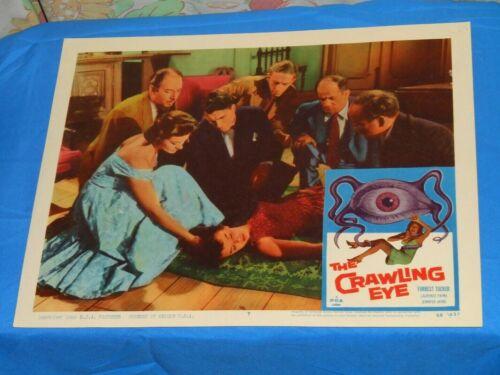 original THE CRAWLING EYE lobby card #7