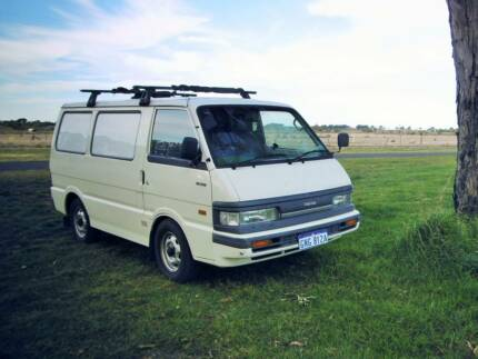 VAN Mazda E1800 CAMPERVAN 244.000km Parramatta Park Cairns City Preview