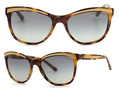Ralph Lauren Damen Sonnenbrille RA8150 5615/11 56mm havana braun cat eye 33A 56