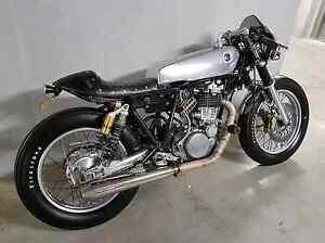 2005 yamaha sr400 custom cafe racer bobber deus ex machina sr500 Hornsby Hornsby Area Preview
