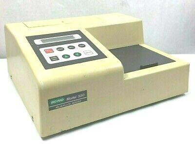 Bio-rad 550 Microplate Reader Warranty