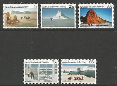 Australia--A.A.T. 1984 Polar Scenes--Attractive Topical (L61, 65-66, 71-72) MNH