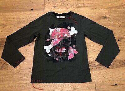 Boy's John Galliano Long Sleeve T-Shirt Age 10