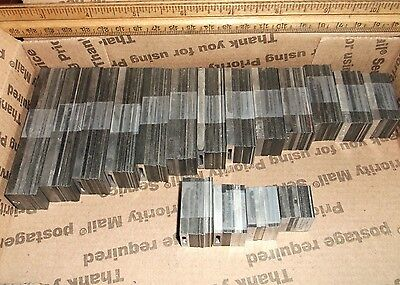 221pc. 2pt 6pt 12pt Leading Slug Kit Printing Press 3x5 5x8 Kelsey Letterpress