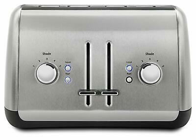 New KitchenAid KMT4115SX Stainless Steel Toaster, Brushed Stainless Steel