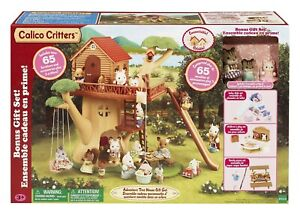 BNIB Calico Critters Adventure Treehouse Gift Set