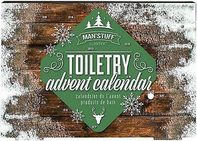 Technic Men's Advent Calendar Toiletries Christmas Gifts Beauty