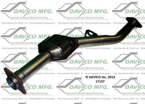 Catalytic Converter Shop Near Me >> Details About Catalytic Converter Exact Fit Rear Davico Exc Ca 17157