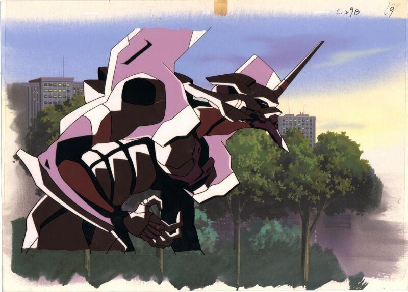 Anime Production Cel Evangelion #176