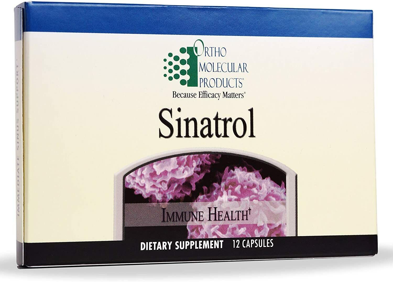 ✔️ New 2 Packs Ortho Molecular Sinatrol 12 Capsule Blister Pack (24 total) 2/20
