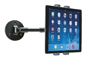 AIDATA EXTENDABLE WALL BRACKET ARM MOUNT APPLE IPAD SAMSUNG TABLET 7
