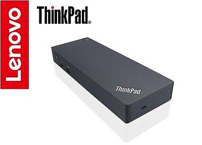 Lenovo ThinkPad Thunderbolt 3 Dock X1 Carbon Yoga Tablet T480/s T580 P52s & More