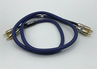 Monster Cable Interlink 201XLN Two 2 Channel 3ft 1 Yard Extra Low Noise Shielded