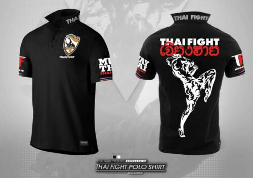 Limited Thai Chiang Rai black Polo shirt boxing 2020 correction