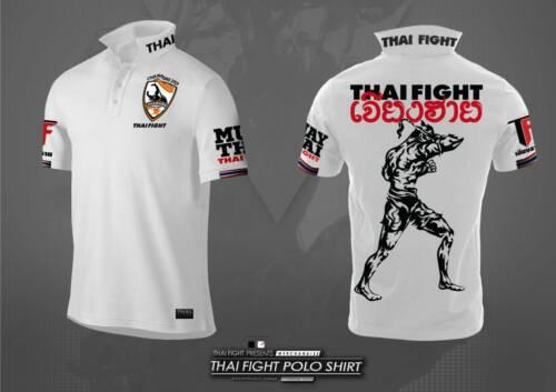 Limited Thai Chiang Rai White Polo shirt boxing 2020 Correction