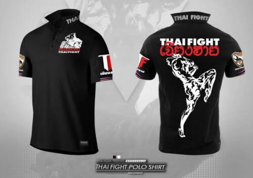 Limited Thai Chiang Rai black Polo shirt boxing 2020