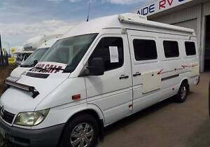 2005 Mercedes LWB Campervan Motorhome only 179842kms Regency Park Port Adelaide Area Preview