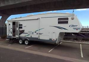 2002 KEYSTONE COUGAR 276EFS FIFTH WHEELER Regency Park Port Adelaide Area Preview