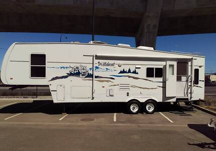 2005 Forrest River Wildcat 33 Twin slide 5th wheeler Angle Park Port Adelaide Area Preview