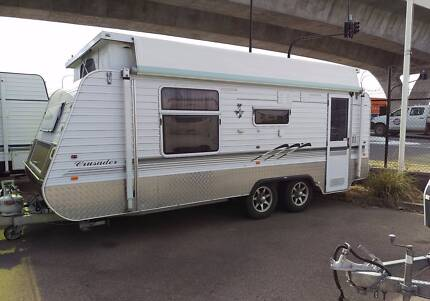 2011 Crusader Poptop Caravan 19ft Immaculate Queen Bed A/C, Annex