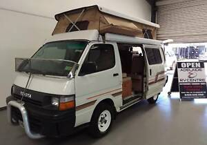 1992 Toyota Hiace Safari Poptop Campervan Regency Park Port Adelaide Area Preview