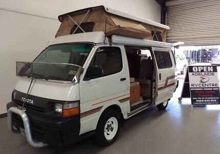 1992 Toyota Hiace Safari Poptop Campervan Regency Park Port Adelaide Area Preview