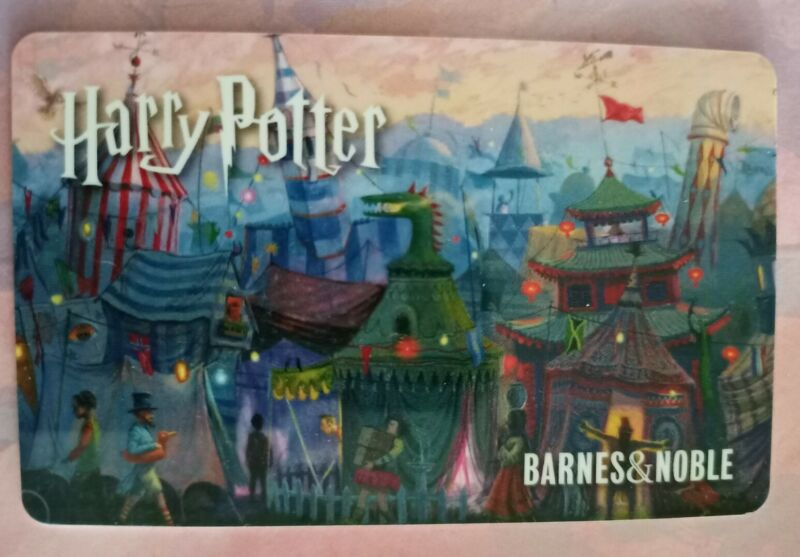 BARNES & NOBLE HARRY POTTER Gift Card, 2019, Collectible Mint, PVC