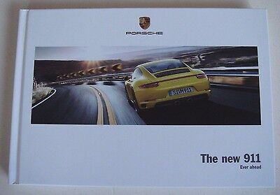 Porsche . 911 . The new 911 . 2016 Sales Brochure