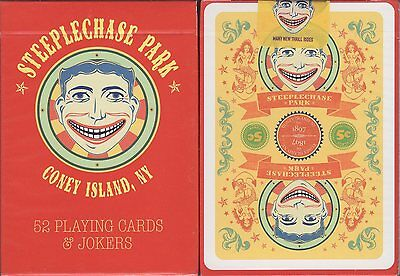 Steeplechase Park Playing Cards Poker Size Deck USPCC Custom Limited Edition New