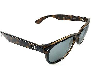 Ray Ban New Wayfarer RB 2132 Sunglasses 55 mm Tortoise Frame Blue Washed (Ray Ban Shield Wayfarer)
