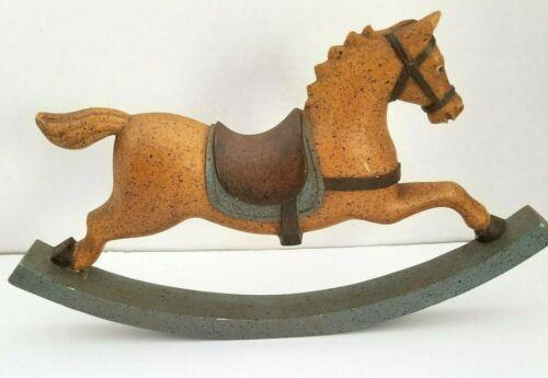 """Vintage Vestwood Folklore Collection Rocking Horse 11 1/2"""" x 7 1/2"""""""