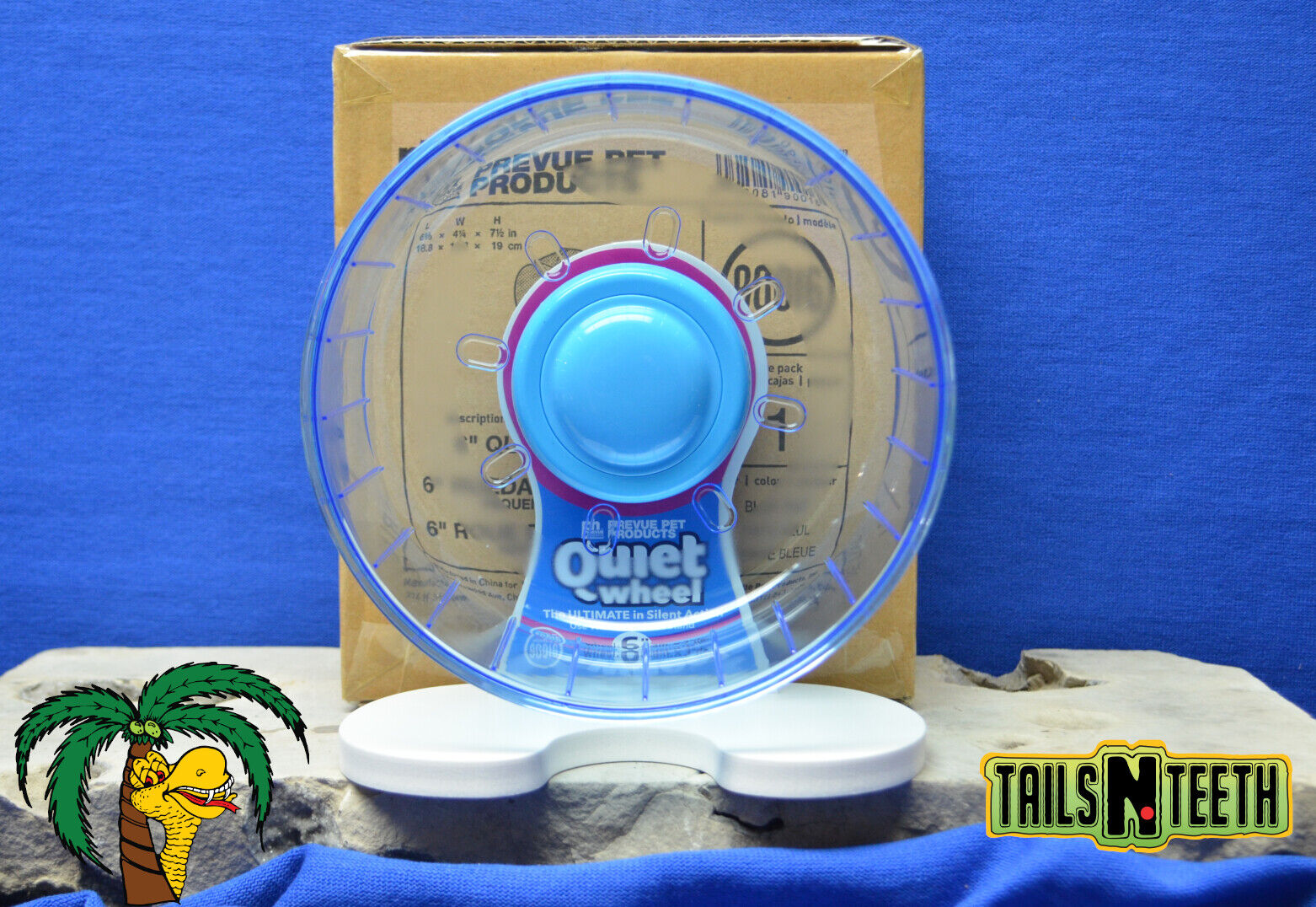 Prevue Quiet Wheel 6 THE ULTIMATE IN SILENT ACTION - For Small Animals 90016  - CA$36.99
