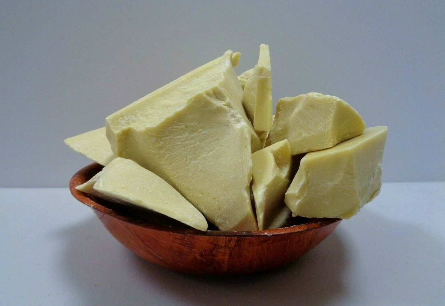 как выглядит Лосьон для тела 100% Raw Unrefined COCOA BUTTER Pure Prime Pressed Natural Quality - Choose Size фото