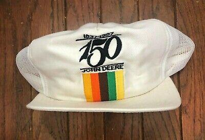 Vintage John Deere Mesh Trucker Hat Snapback Hat Louisville MFG USA Made