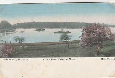 POSTCARD~CRYSTAL LAKE ~WAKEFIELD, MA, used for sale  Albany