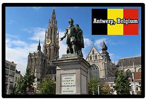AMBERES-Belgica-RECUERDO-ORIGINAL-Iman-de-NEVERA-NUEVO-Regalo