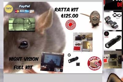 Night Vision Sniperscope Ratta Kit Convert Your Scope Nite Site Paintball Airsof