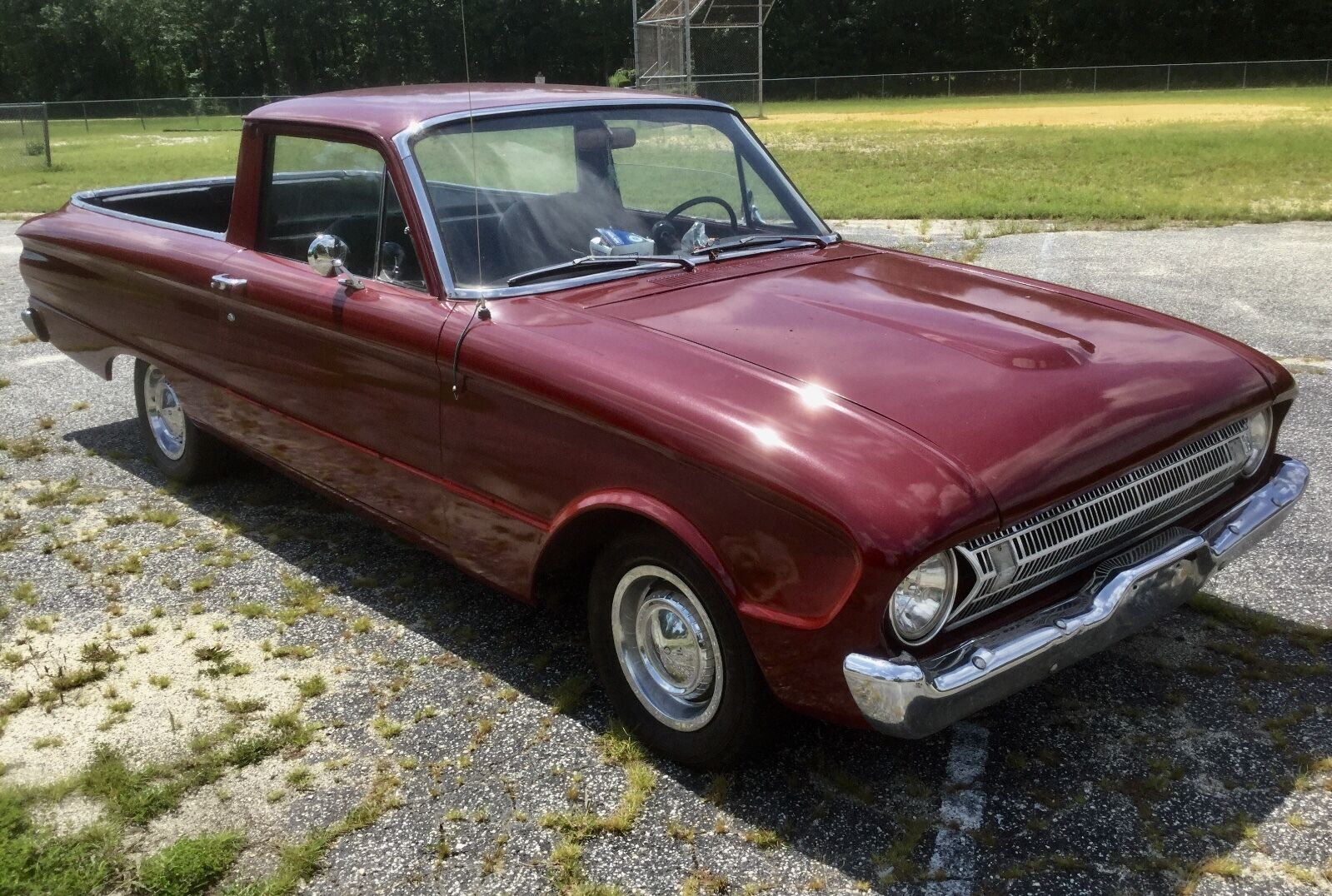 1960 Ford Ranchero Pickup 1960 Ford Falcon Rachero, good solid driver with 5 speed stick STARTS AT 1¢, NR!