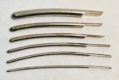 Lot of 6 Antique vintage medical surgical gynecologically instrument (2)