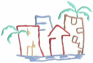 Large-Palm-Tree-Beach-Beachfront-Vacation-Scene-Embroidery-Applique-Patch