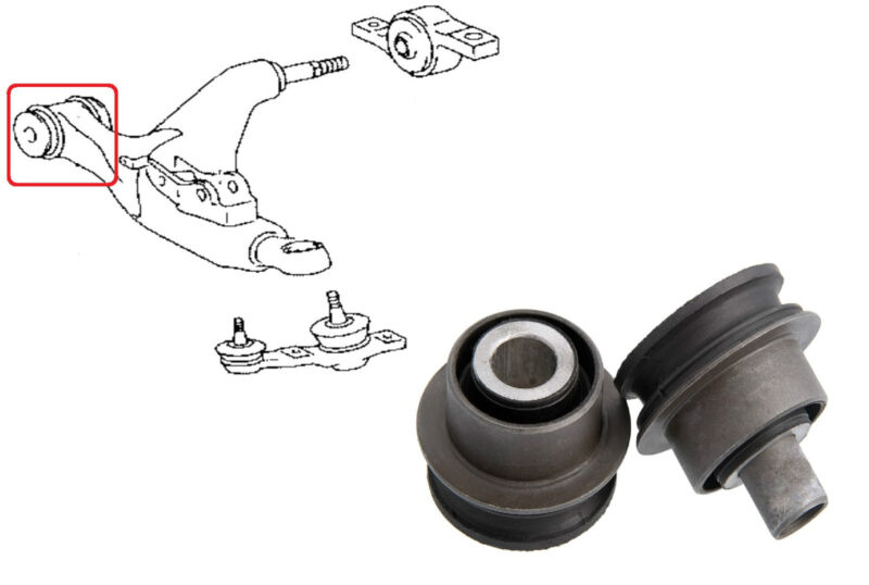 FRONT LOWER ARM FRONT BUSH KIT FOR LEXUS IS220 IS250 IS350 GS300 GS430 GS450H